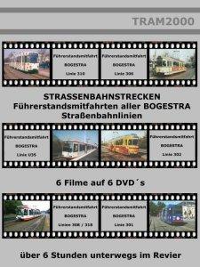 Straßenbahnstrecken - Führerstandsmitfahrten