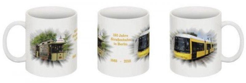 Kaffee-Becher - 150 Jahre Straßenbahn in Berlin