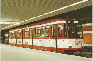 Postkarte - Stadtbahneröffnung in Bochum 1979