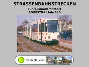 Straßenbahnstrecken - Führerstandsmitfahrten - BOGESTRA Linie 310