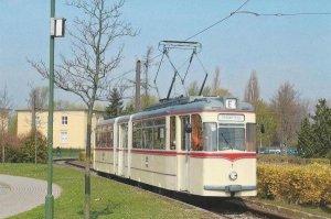 Postkarte - G4-61 Gelenktriebwagen Rostock HTW-1