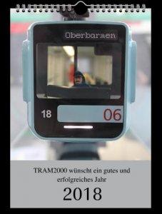 Straßenbahn-Kalender 2018