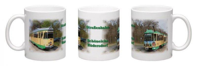 Kaffee-Becher - Straßenbahn Schöneiche / Rüdersdorf