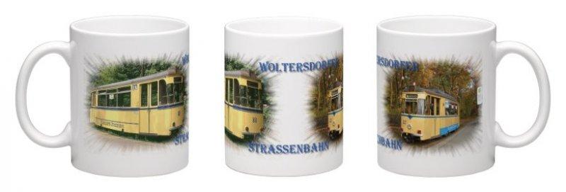 Kaffee-Becher - Woltersdorfer Straßenbahn