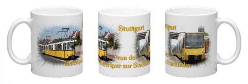 Kaffee-Becher - Stuttgart - Von der Meterspur zur Stadtbahn