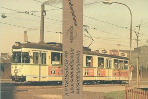 Postkarten-Serie BOGESTRA - Straßenbahnen
