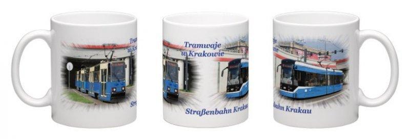 Kaffee-Becher - Straßenbahn Krakau