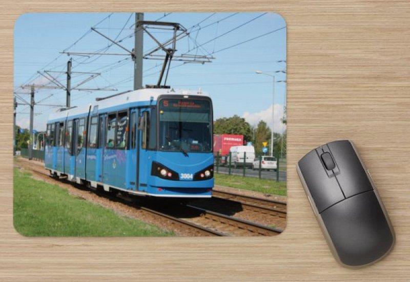 Mousepad mit Straßenbahnmotiv