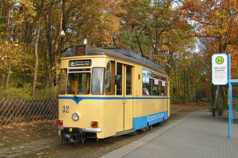 Postkarte - Woltersdorf TW-32 vom Typ T57