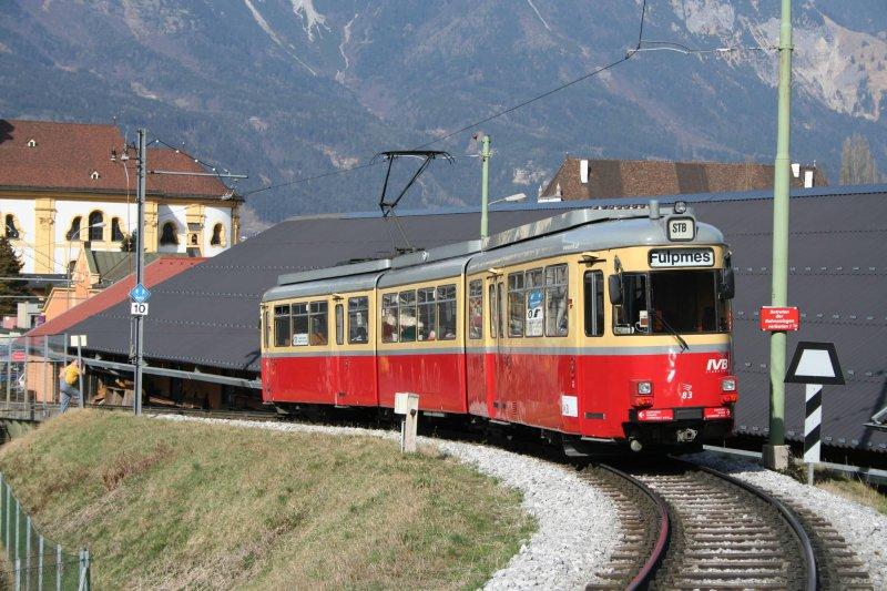 Postkarte - Innsbruck (Österreich) vom Typ GT8