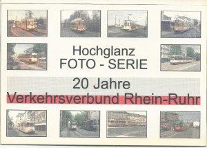 Foto-Serie - 20 Jahre Verkehrsverbund Rhein-Ruhr