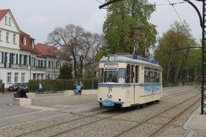 "Postkarte Naumburg - T57 ""Gothatriebwagen"" 37"
