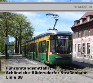 Straßenbahnstrecken - Führerstandsmitfahrten - SRS Linie 88