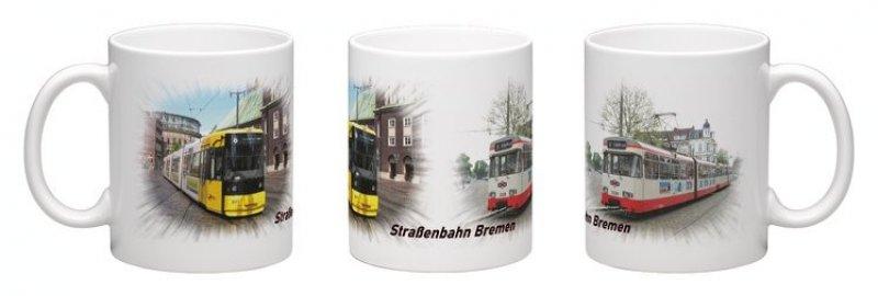 Kaffee-Becher - Straßenbahn Bremen