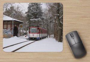 Mousepad mit Straßenbahnmotiv - Strausber