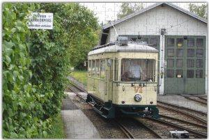 Puzzle mit Straßenbahnmotiv - Linz (A) Pöstlingbergbahn