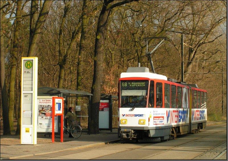Postkarte Berlin - KT4D-mod TW-6150