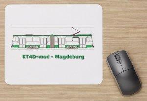 Mouse-Pad - KT4D-mod Magdeburg