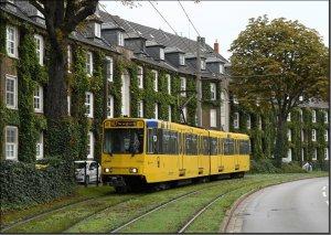 Postkarte Essen - B80C Gelenktriebwagen 5110