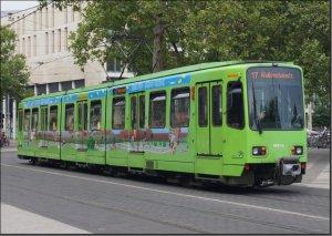 Postkarte Hannover - Stadtbahn TW-6224