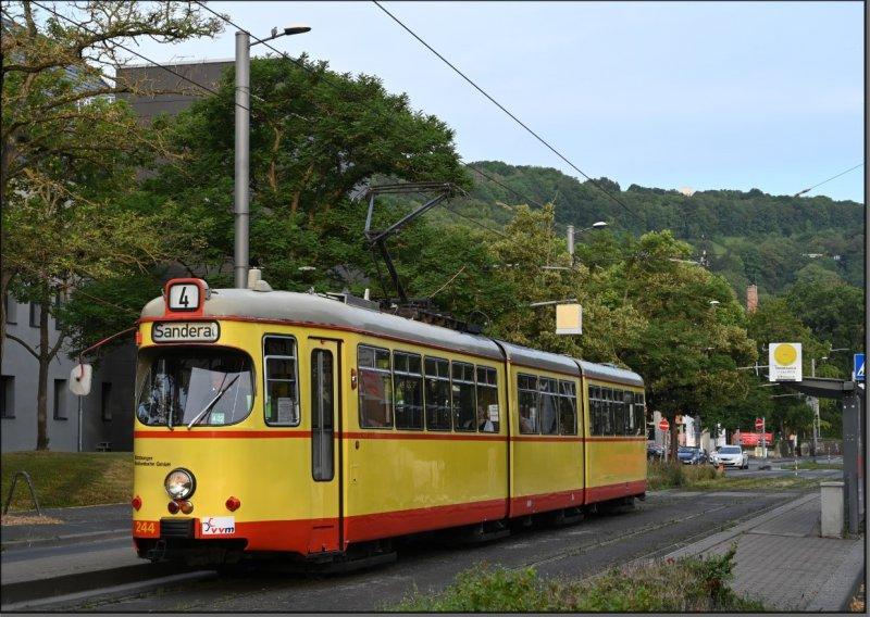Postkarte Würzburg - GT8 TW-244