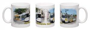 Panorama-Kaffeebecher - Straßenbahn Gera