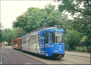 Postkarte Halle (Saale) - GT4 TW-864