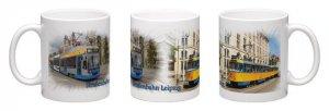 Kaffee-Becher - Straßenbahn Leipzig