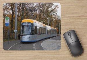 Mousepad mit Straßenbahnmotiv - NGT10 Leipzig TW-1011