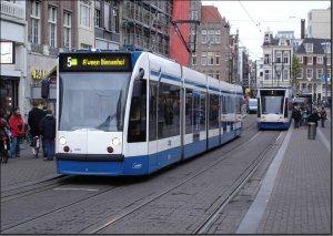 Postkarte Amsterdam (Niederlande) - Combino TW-2202