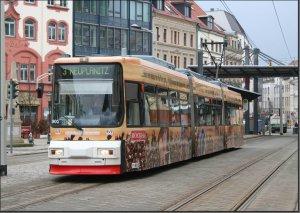 Postkarte Zwickau - GT6M TW-902