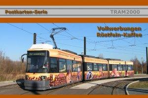 """Postkarten-Serie - Vollwerbung """"RÖSTFEIN-KAFFEE"""""""