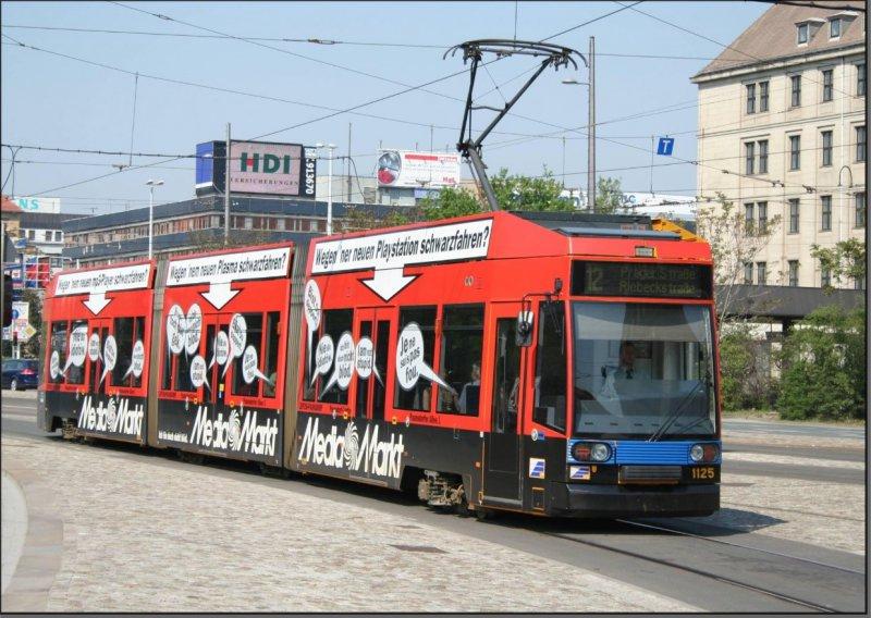 Postkarte Leipzig - NGT8 TW-1125