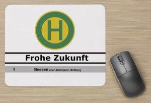 "Mousepad - Haltestelle HAVAG ""Frohe Zukunft"""