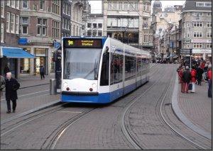 Postkarte Amsterdam (Niederlande) - Combino TW-2086