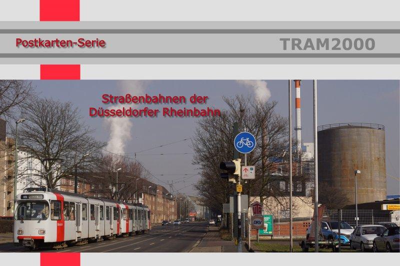 Postkarten-Serie - Rheinbahn Düsseldorf mit 22 Motivkarten