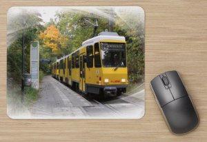 Mousepad mit Straßenbahnmotiv - KT4D-mod TW-6103