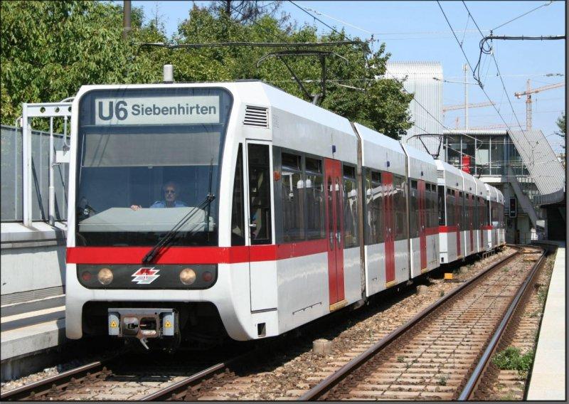 Postkarte Wien (Österreich) - Stadtbahn-Triebwagen 2642